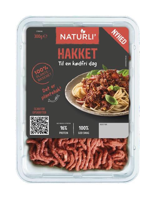 NATURLI' Hakket til en kødfri dag i emballage